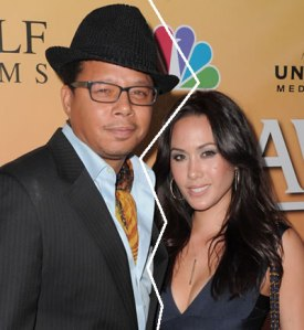 Terrence Howard and wife