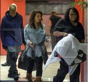 Kanye West and Kim Kardashian first photo