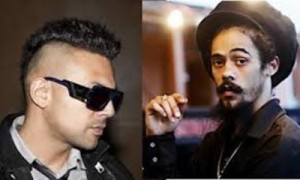 Sean Paul and Damion Marley