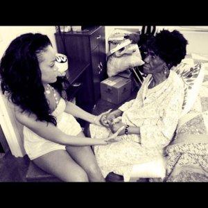 rihanna and granny